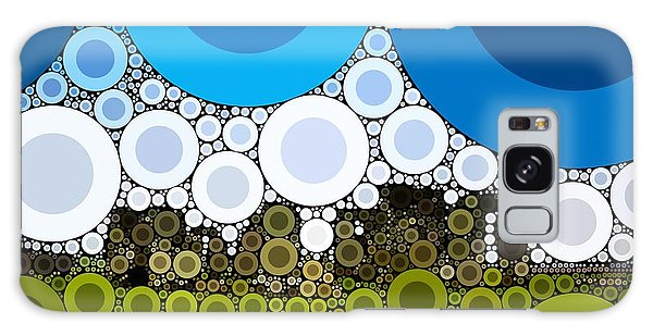 Majestic Galaxy Case - Bubble Art Stonehenge by John Springfield