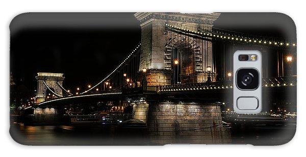 Budapest At Night. Galaxy Case by Jaroslaw Blaminsky
