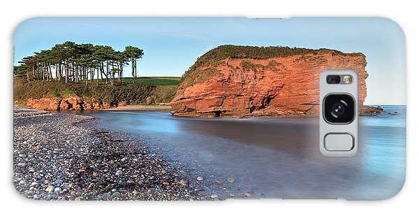River Otter Galaxy Case - Budleigh Salterton - England by Joana Kruse