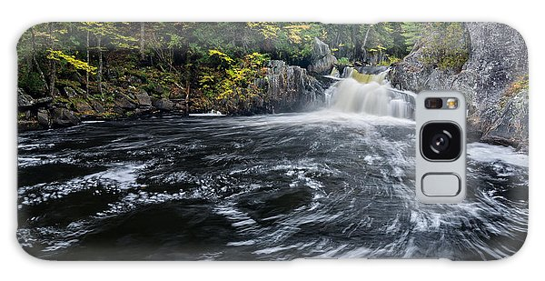 Galaxy Case featuring the photograph Buttermilk Falls Gulf Hagas Me. by Michael Hubley