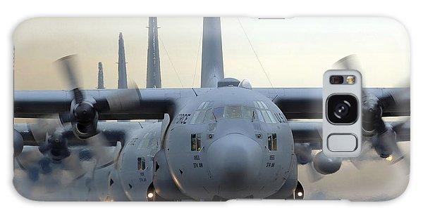 Tactical Galaxy Case - C-130 Hercules Aircraft Taxi by Stocktrek Images
