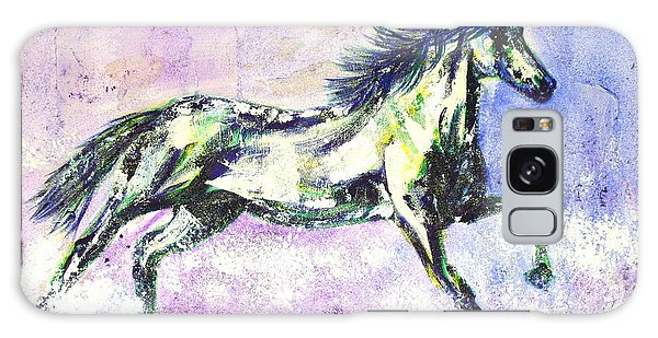 Caballo De Vida Galaxy Case by Lynda Cookson
