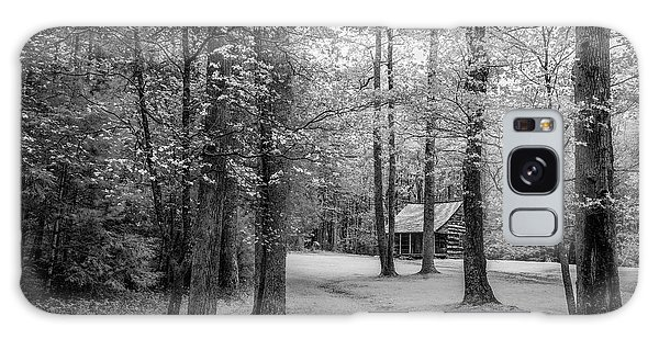 Cabin In Cades Cove Galaxy Case by Jon Glaser