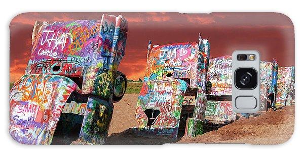 Cadillac Ranch Galaxy Case by Carolyn Dalessandro