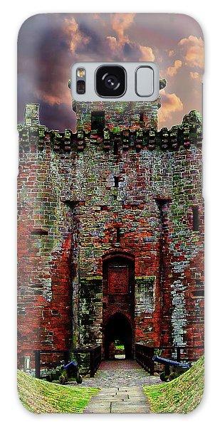 Caerlaverock Castle Galaxy Case