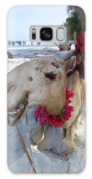Camel On Beach Kenya Wedding3 Galaxy Case
