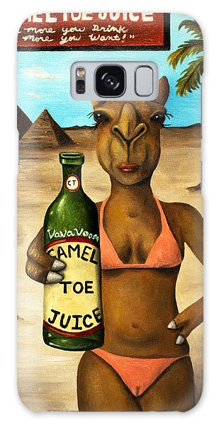 Camel Toe Juice Galaxy Case by Leah Saulnier The Painting Maniac