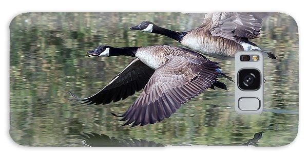 Canada Geese Galaxy Case