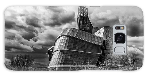 Canadian Museum For Human Rights Galaxy Case by Tom Gort