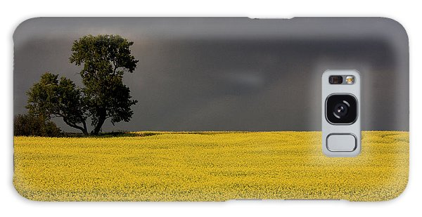 Canola Storm Galaxy Case