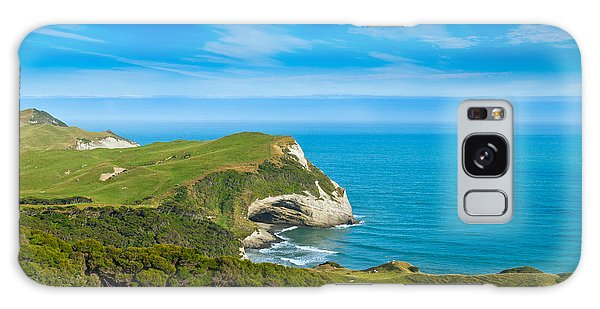 Cape Farewell Able Tasman National Park Galaxy Case