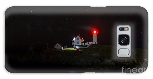 Cape Neddick/nubble Light. York Beach, Maine. Galaxy Case