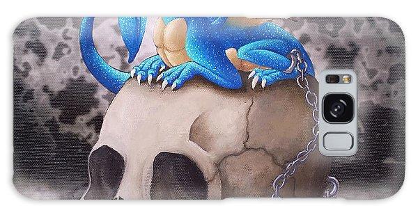 Captive Dragon On An Old Skull Galaxy Case