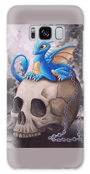 Captive Dragon On An Old Skull Galaxy Case