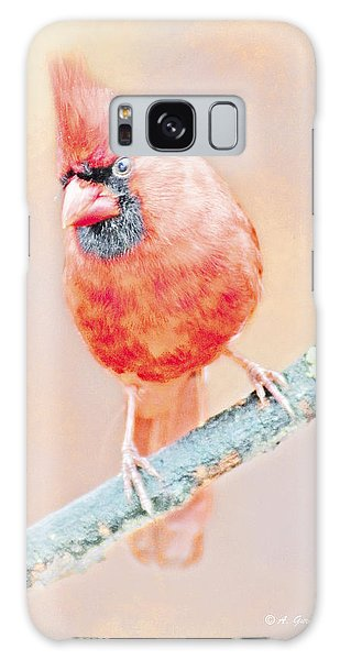 Galaxy Case - Cardinal Male by A Gurmankin