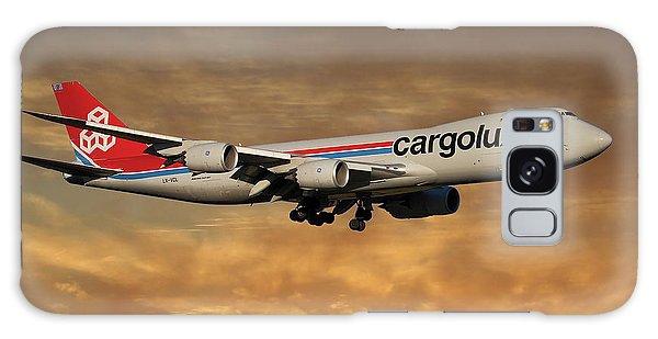 Jet Galaxy Case - Cargolux Boeing 747-8r7 2 by Smart Aviation