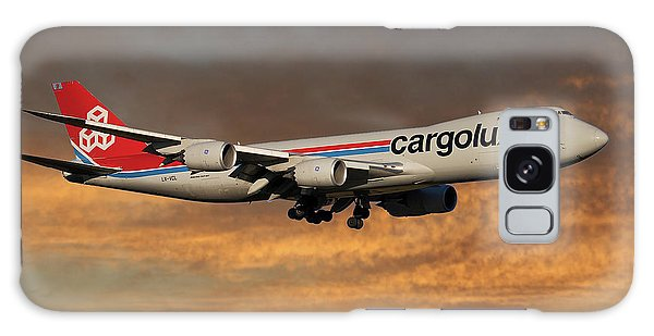 Jet Galaxy Case - Cargolux Boeing 747-8r7 3 by Smart Aviation
