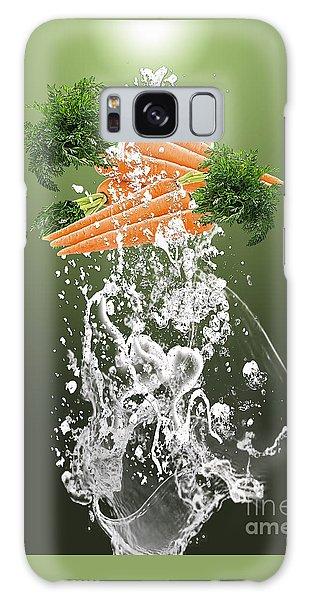 Carrot Splash Galaxy Case