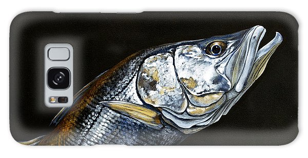 Caught In The Surf Snook Galaxy Case