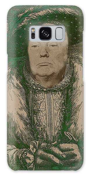 Celebrity Etchings - Donald Trump Galaxy Case by Serge Averbukh