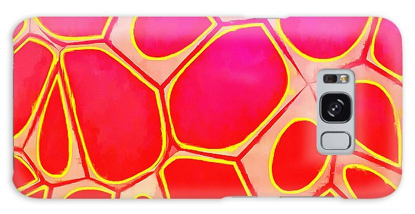 Beautiful Galaxy Case - Cells Abstract Three by Edward Fielding