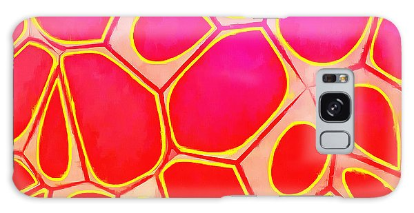 Cells Abstract Three Galaxy Case by Edward Fielding