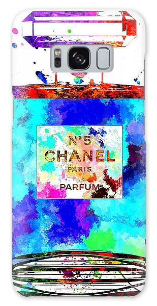 Chanel No. 5 Grunge Galaxy Case by Daniel Janda
