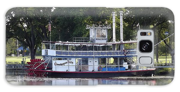 Chautauqua Belle On Lake Chautauqua Galaxy Case