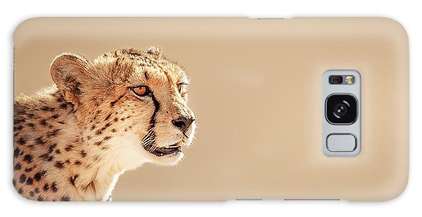 Cheetah Portrait Galaxy S8 Case