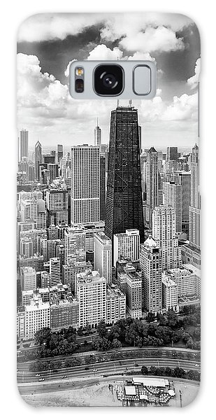 Galaxy Case featuring the photograph Chicago's Gold Coast by Adam Romanowicz