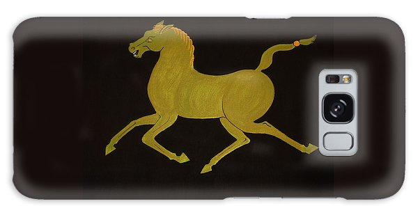 Chinese Horse #2 Galaxy Case by Stephanie Moore