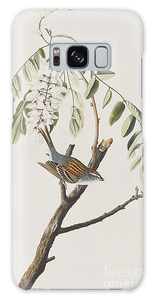Chipping Sparrow Galaxy Case by John James Audubon