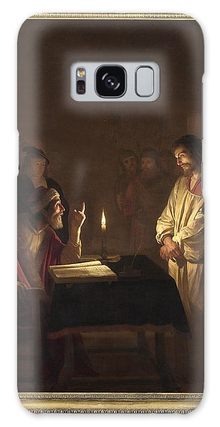 Christ Before The High Priest Galaxy Case by Gerrit van Honthorst