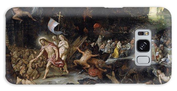 Jan Galaxy Case - Christ In Limbo by Jan Brueghel the Elder