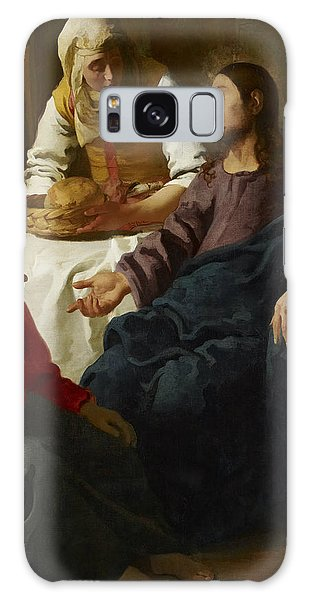 Vermeer Galaxy Case - Christ In The House Of Martha And Mary by Jan Vermeer