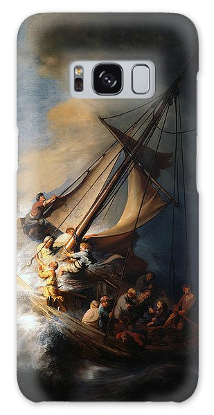 Christ In The Storm On The Lake Of Galilee Galaxy Case