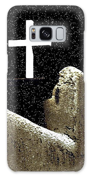 Christmas In Taos Galaxy Case
