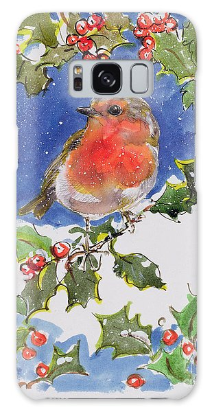 Christmas Robin Galaxy S8 Case