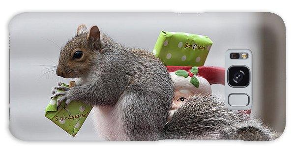 Christmas Squirrel Galaxy Case
