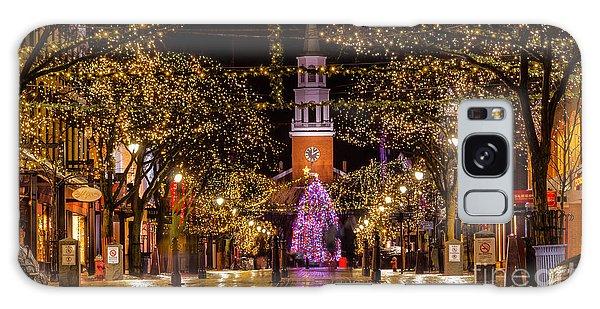 Christmas Time On Church Street. Galaxy Case