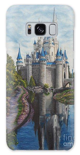 Cinderella Castle  Galaxy Case