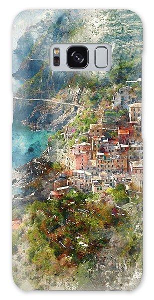 Cinque Terre In Italy Galaxy Case