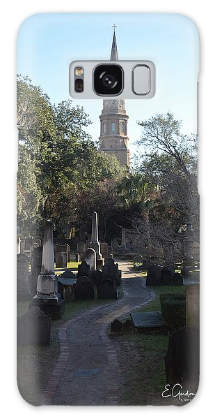 Circular Congregational Graveyard 3 Galaxy Case by Gordon Mooneyhan