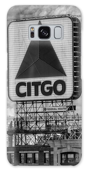 Galaxy Case featuring the photograph Citgo Sign Kenmore Square Boston by Susan Candelario
