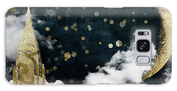Cloud Cities New York Galaxy Case