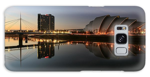 Clydeside Reflections  Galaxy Case