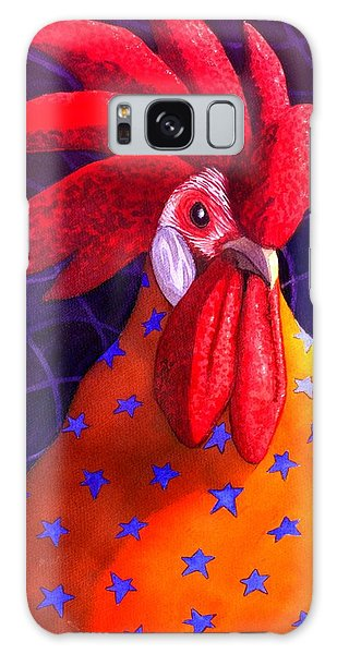 Cock A Doodle Dude Galaxy Case