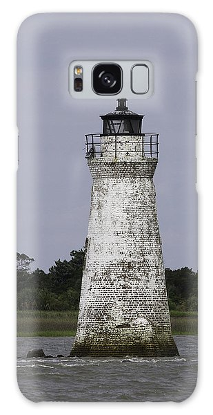 Cockspur Lighthouse Galaxy Case by Elizabeth Eldridge