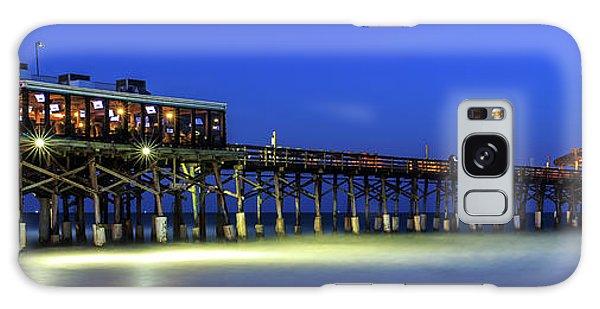 Cocoa Beach Pier At Twilight Galaxy Case