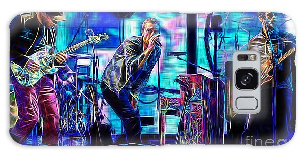 Coldplay Collection Chris Martin Galaxy Case by Marvin Blaine